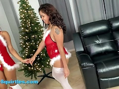 Sexy Lesbian Christmas Show...
