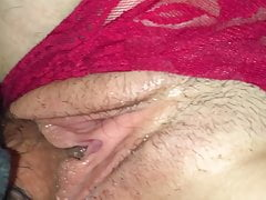 GF Creampie Close-up wet quicky...