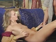 blonde beauty is waiting for cock