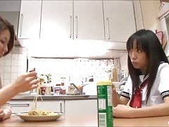 Asian Schoolgirl Seduces...