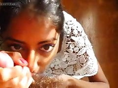 Sri lankan best blowjob Girl