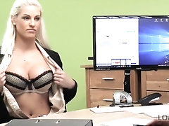 LOAN4K. Seductive chick with big...