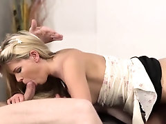 Old man cums inside pussy and...