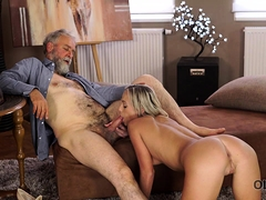 OLD4K. Shanie Ryan finally tries...