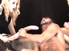 Teenies nail guys anal hole with...