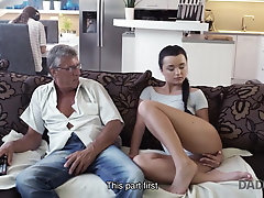DADDY4K. Old dad lured into...
