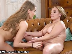 21Sextreme GILF and Teen Lez...