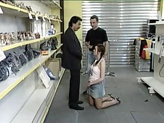Teen Fucked In The Shop