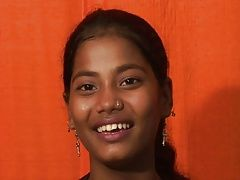 Cute Indian Teen Anjali And...