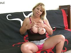 Super Hot MILF with huge tits...