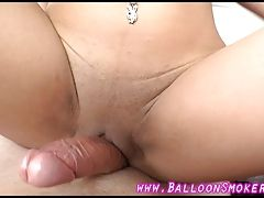 Latina gives BF hand job right...