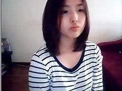 korean girl on web cam -...