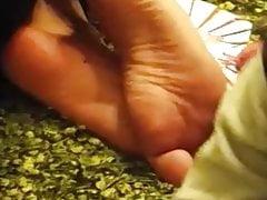 hijabi teen wrinkly soles