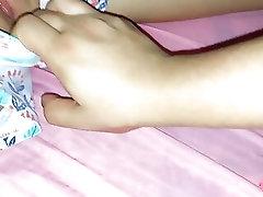 Hindi – touching my...