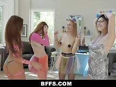 BFFS- EDM Teen Sluts Fucked By...