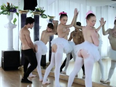 Teen blow for money Ballerinas
