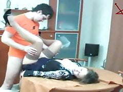 Russian Mature MILF Step-mom and...