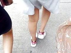 Vestido ajustado de nenita
