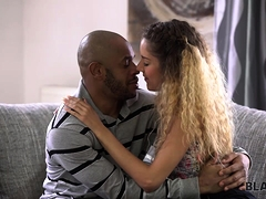 BLACK4K. Interracial sex of...