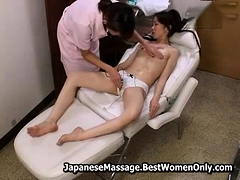 Asian Japanese Lesbian Massage...