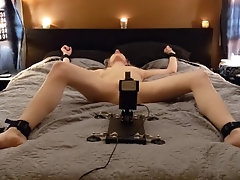 Tied Up and Fucked With a Machine!