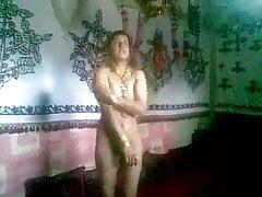 Two Pakistani teen girl strip...