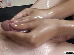Super hot brunett Asian masseuse...