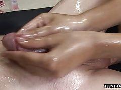 Super hot brunett Asian masseuse...