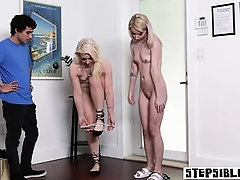 Angry stepbrother punished...