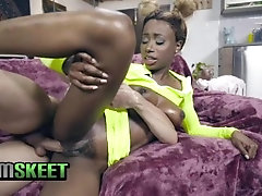 TeamSkeet - Huge Tits Ebony Teen...
