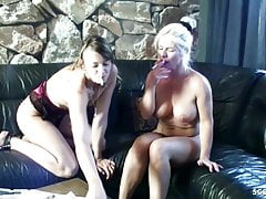STEP MOM and DAUGHTER German in...