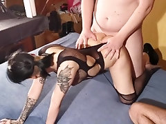3 old guy gangbang fuck sold out...