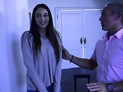 Teen Natalia followed bedroom rules