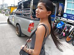 Real amateur Thai teen cutie...