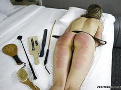 Teen Takes a Hard Belting -...