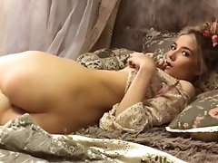 Who is she? Sweet young sexy tease.