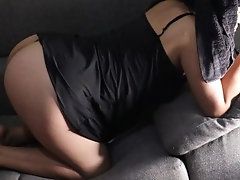 She is fucked, wait until the end