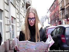 Casual Teen Sex - Nerdy tourist...