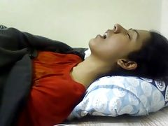 Indian Girl Having Orgasm Nice...