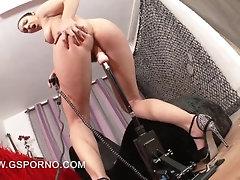Fuckmachine porn of Pamela Sanchez