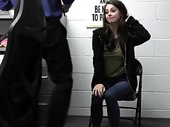 Perverted teen got fucked in the...