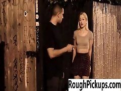 Real punished teen