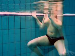Underwater mermaid Vesta horny teen