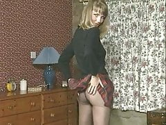 Horny FC Girl in tights