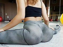 A huge and round ASS