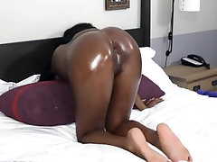 Black Ass Waiting For A White Cock