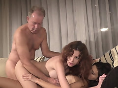 Sex Competition - Oldje3some -...