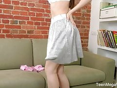 TeenMegaWorld - Brunette babe...