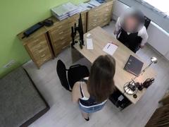 LOAN4K. Dirty sex on the desk...