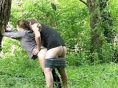 Hot teen couple explores a...